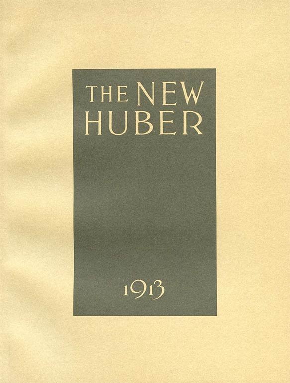 THE NEW HUBER 1913, E-BOOK
