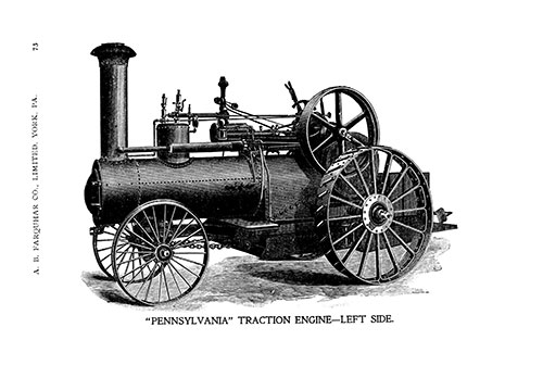 1899 ENGINES, THRESHING MACHINES, HORSE POWERS E-BOOK