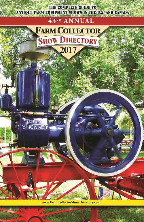 FARM COLLECTOR SHOW DIRECTORY 2017