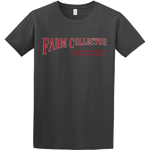 FARM COLLECTOR CHARCOAL T-SHIRT - XLARGE