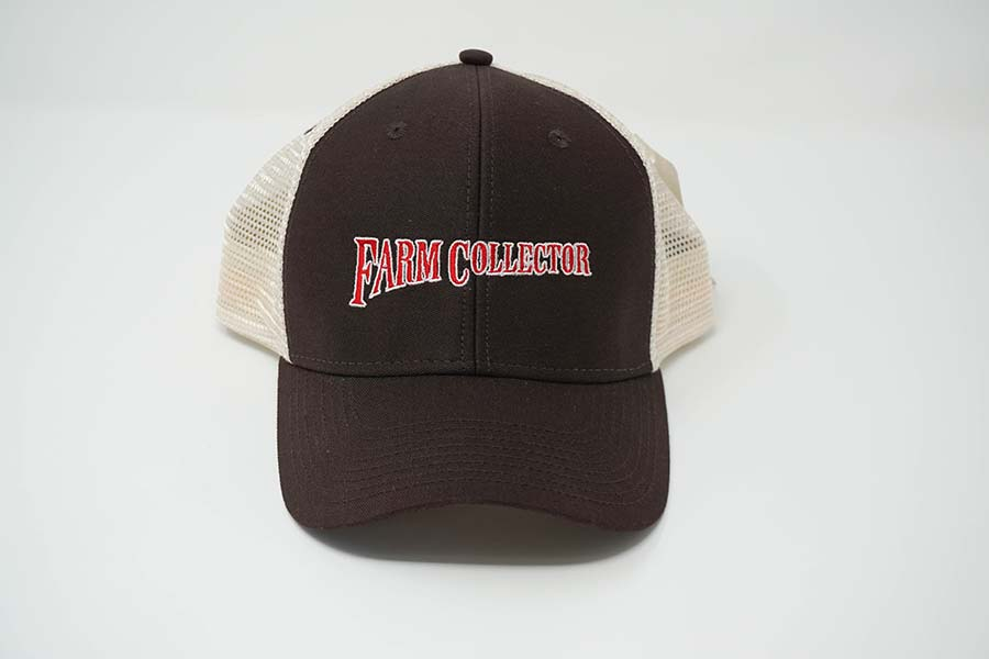 FARM COLLECTOR BROWN/NATURAL TRUCKER HAT