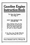 E-BOOK, SEARS ROEBUCK & CO. GASOLINE ENGINE INSTRUCTION BOOK