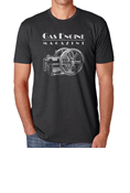 GAS ENGINE T-SHIRT SHORT SLEEVE CHARCOAL GREY - XL