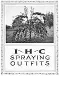 IHC SPRAYING OUTFITS