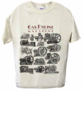 GAS ENGINE MAGAZINE SHORT SLEEVE T-SHIRT; LARGE