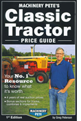 MACHINERY PETE'S CLASSIC TRACTOR PRICE GUIDE