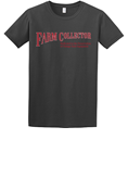 FARM COLLECTOR CHARCOAL T-SHIRT - XXLARGE