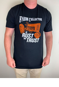 FARM COLLECTOR IN RUST WE TRUST T-SHIRT